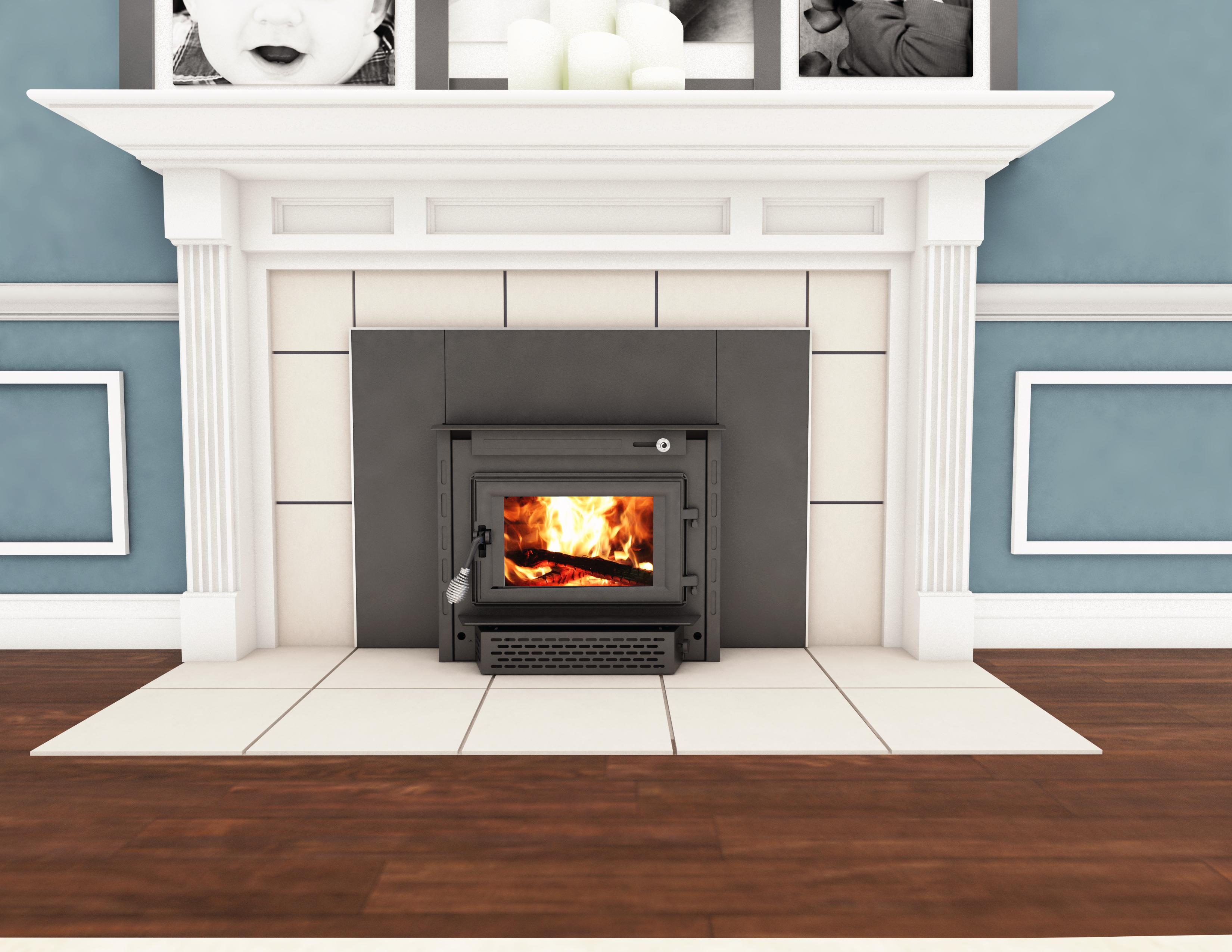 Wood Burning Fireplace Insert Reviews highlander hf 577iu