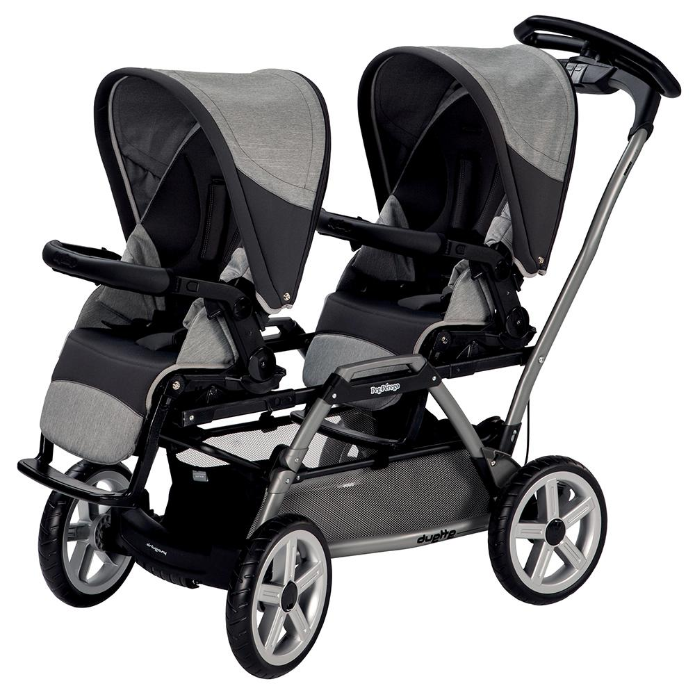 peg perego duette sw stroller chassis grey. Black Bedroom Furniture Sets. Home Design Ideas