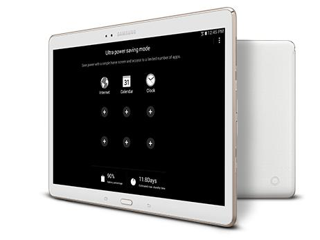Samsung Galaxy Tab S 4G LTE Tablet, Dazzling White 10.5-Inch 16GB