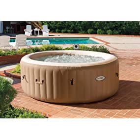 intex pure spa inflatable portable bundle package ultimate set 4 person hot tub ebay. Black Bedroom Furniture Sets. Home Design Ideas