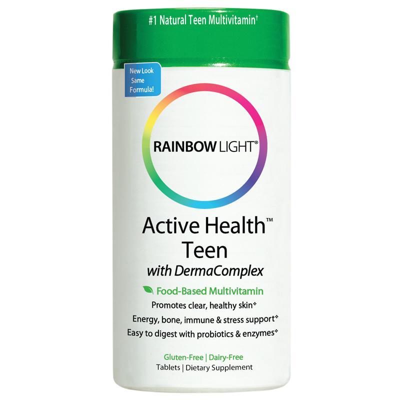 Rainbow light teen