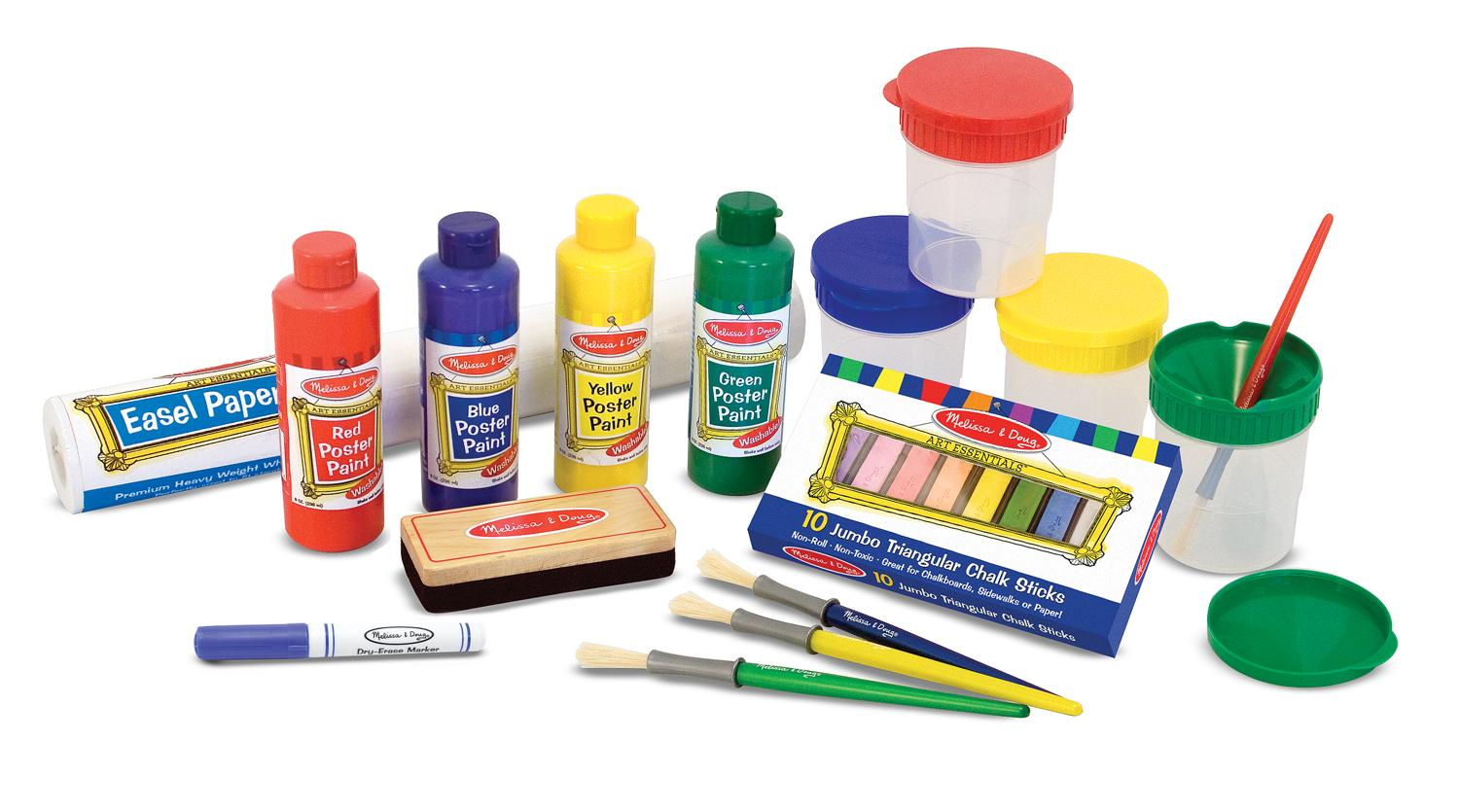 Melissa doug easel accessory set melissa for Homedepot colorsmartbybehr com paintstore
