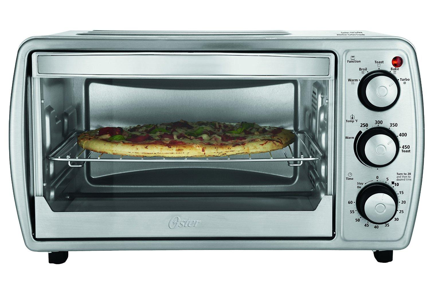 Amazon.com: Oster TSSTTVCG02 Oster 6 Slice Convection Toaster Oven ...