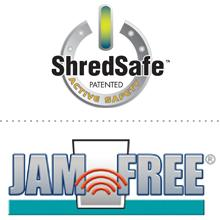 ShredSafe Jamfree logo