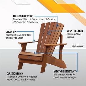 Amazon Lifetime Adirondack Chair Patio Lawn & Garden