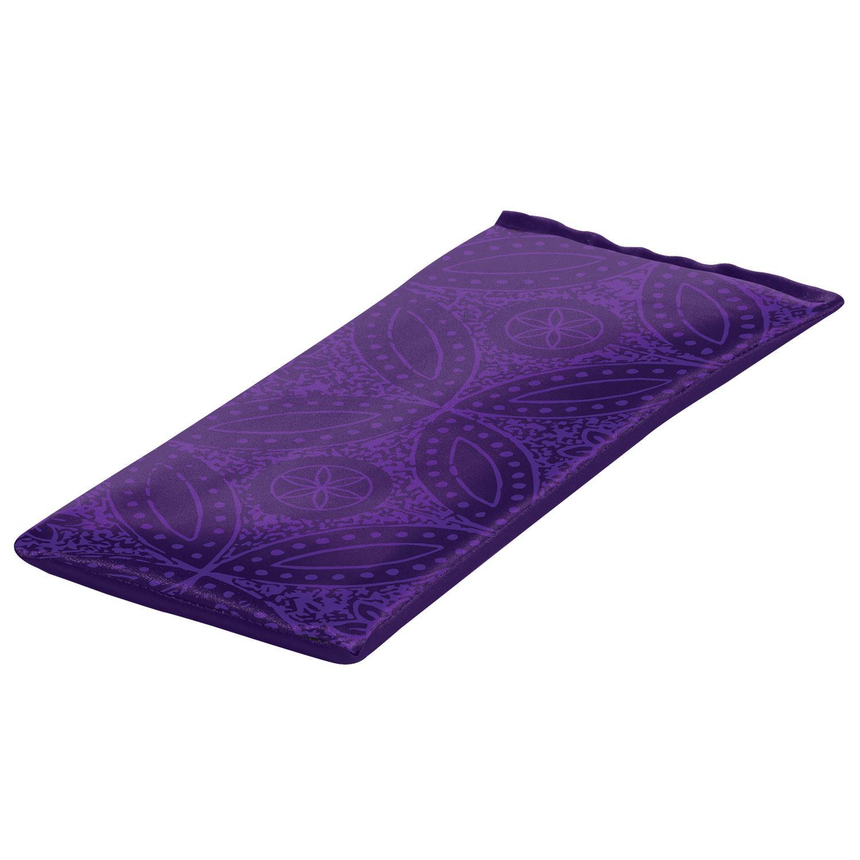 Amazon.com : Gaiam Yoga Eye Pillow, Purple Batik : Sports