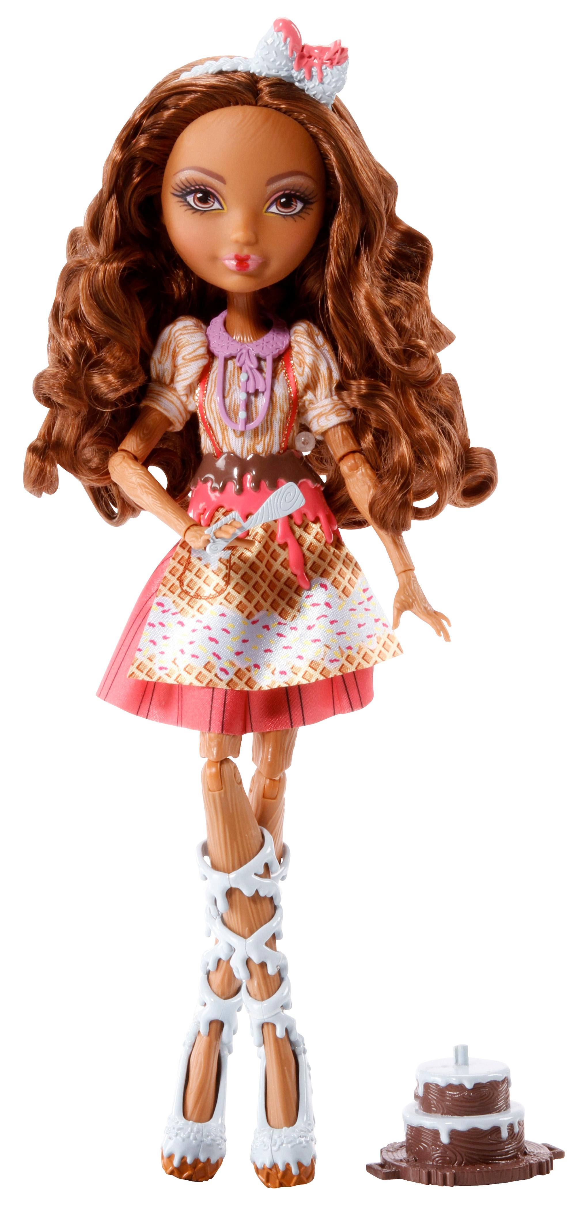 Amazon.com: Ever After High Sugar Coated Cedar Wood Doll: Toys & Games