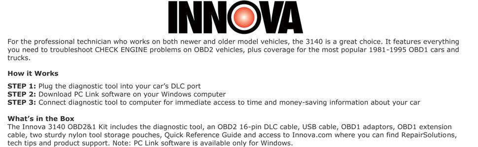 A E A Ead B V Sr on Innova 3100 Obd2 Code Reader