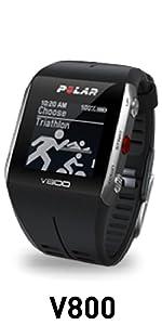 Polares V800 Deportes del reloj del GPS w / Rastreo de Actividad