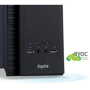 how to open an acer axc computer