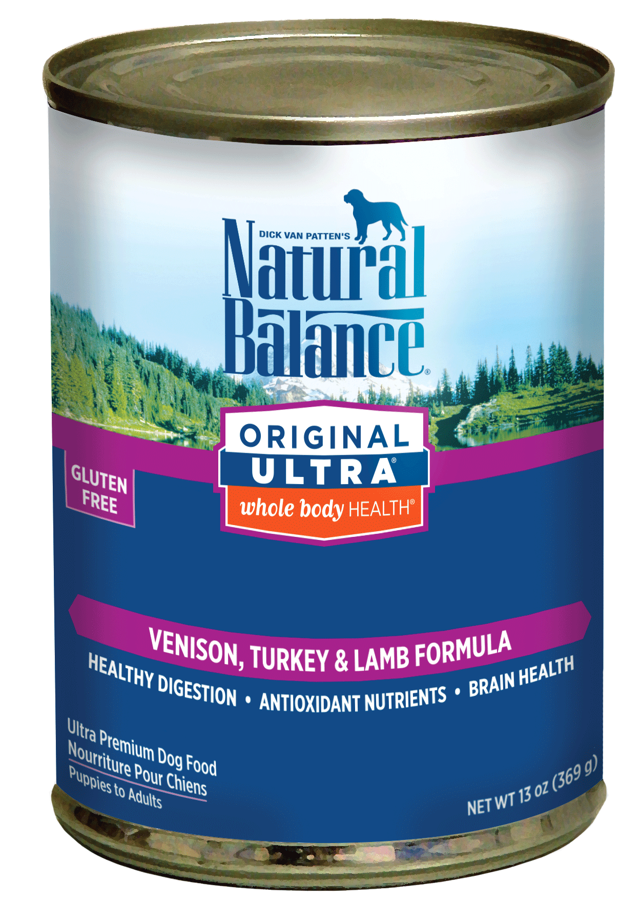 Natural Balance Original Ultra Whole Body Health Venison, Turkey Meal, Lamb Meal Formula Dry Dog