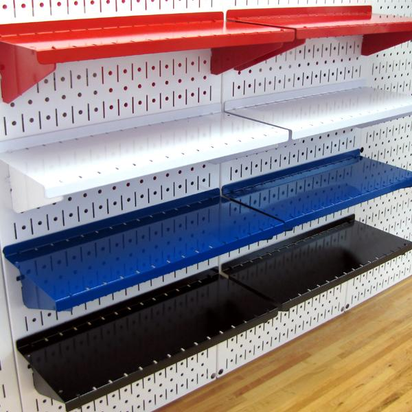 Wall Control Asm Sh 1606 B Deep Pegboard Shelf Assembly For Wall Control Pegboard Only 6