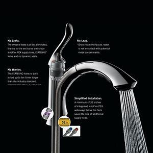 Delta Faucet 9178-AR-DST Leland Single Handle Pull-Down