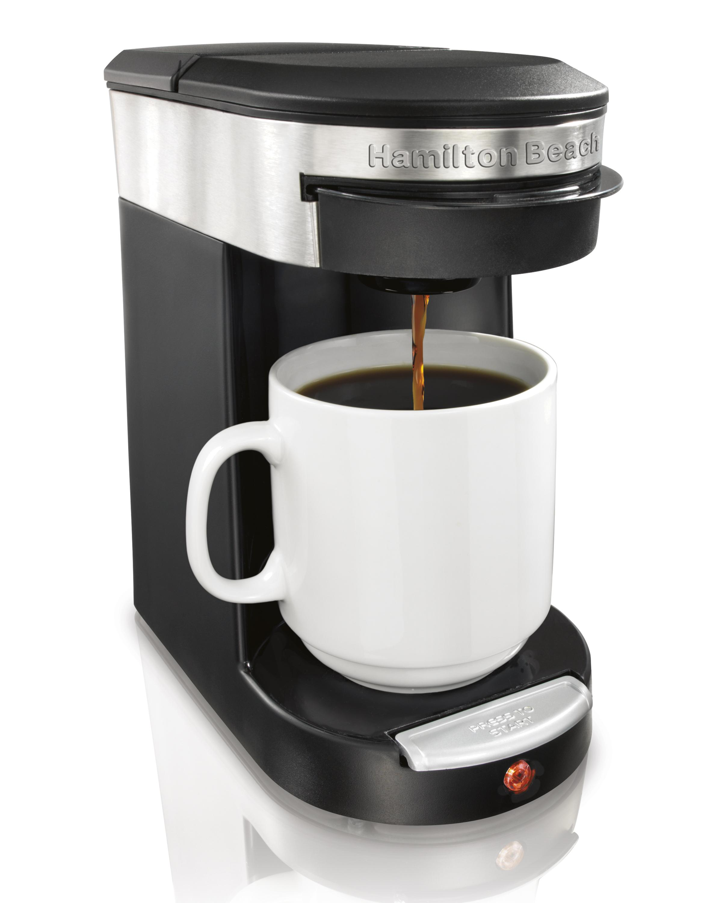 One Cup Coffee Maker K Cup : Amazon.com: Hamilton Beach 49970 Personal Cup One Cup Pod Brewer: Kitchen & Dining