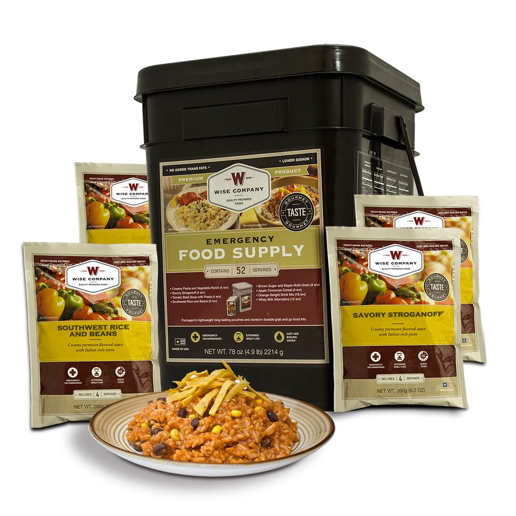 Wise company 60 serving gourmet seasoned for Cuisine equipement