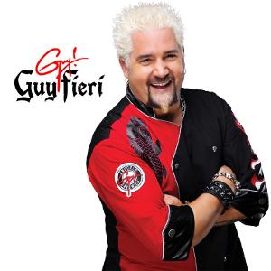 Guy Fieri, kitchen, cookware, cutlery, pots, pans, chef, celebrity chef