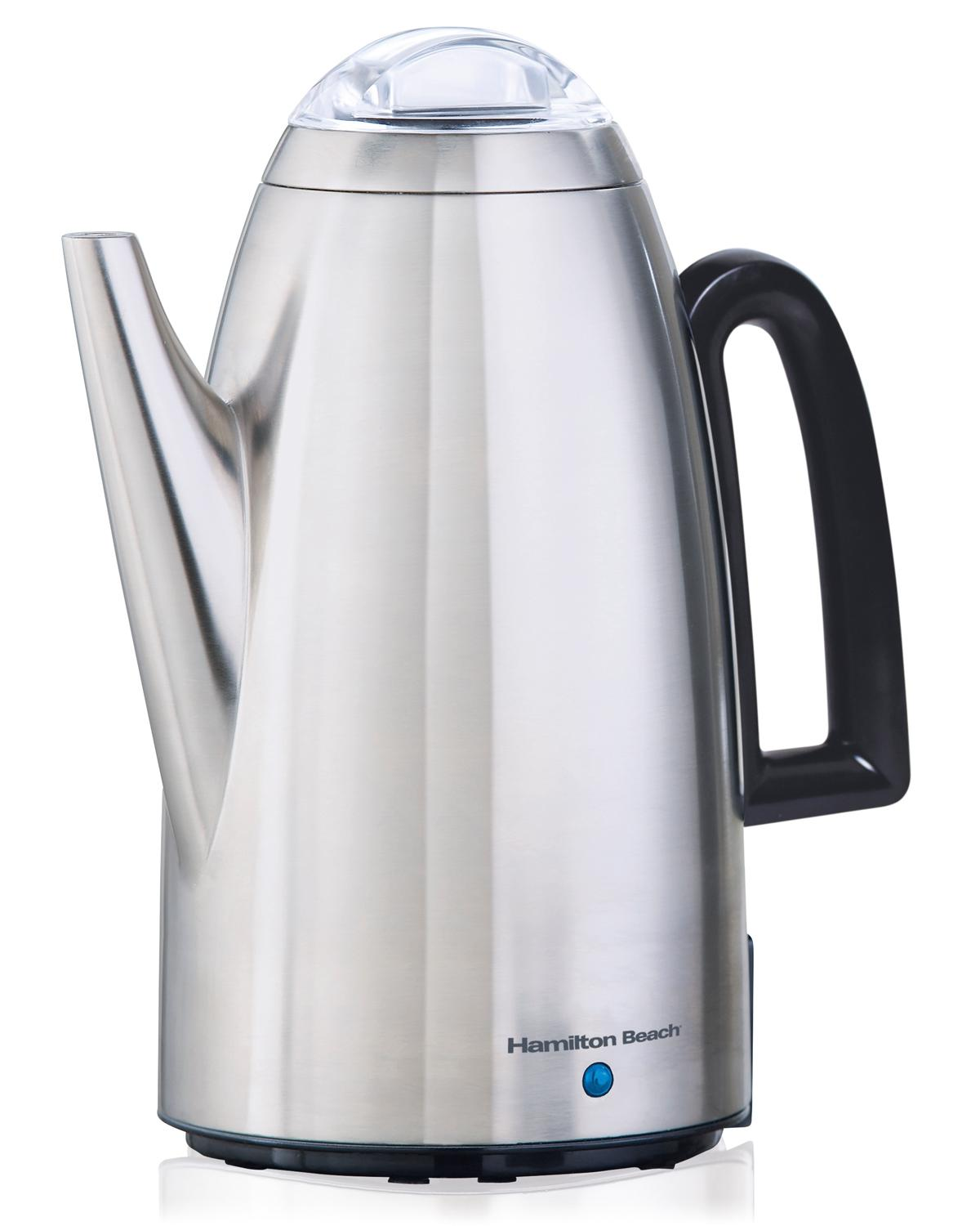 Stainless steel large commercial urns best rated reviews for Best coffee percolator