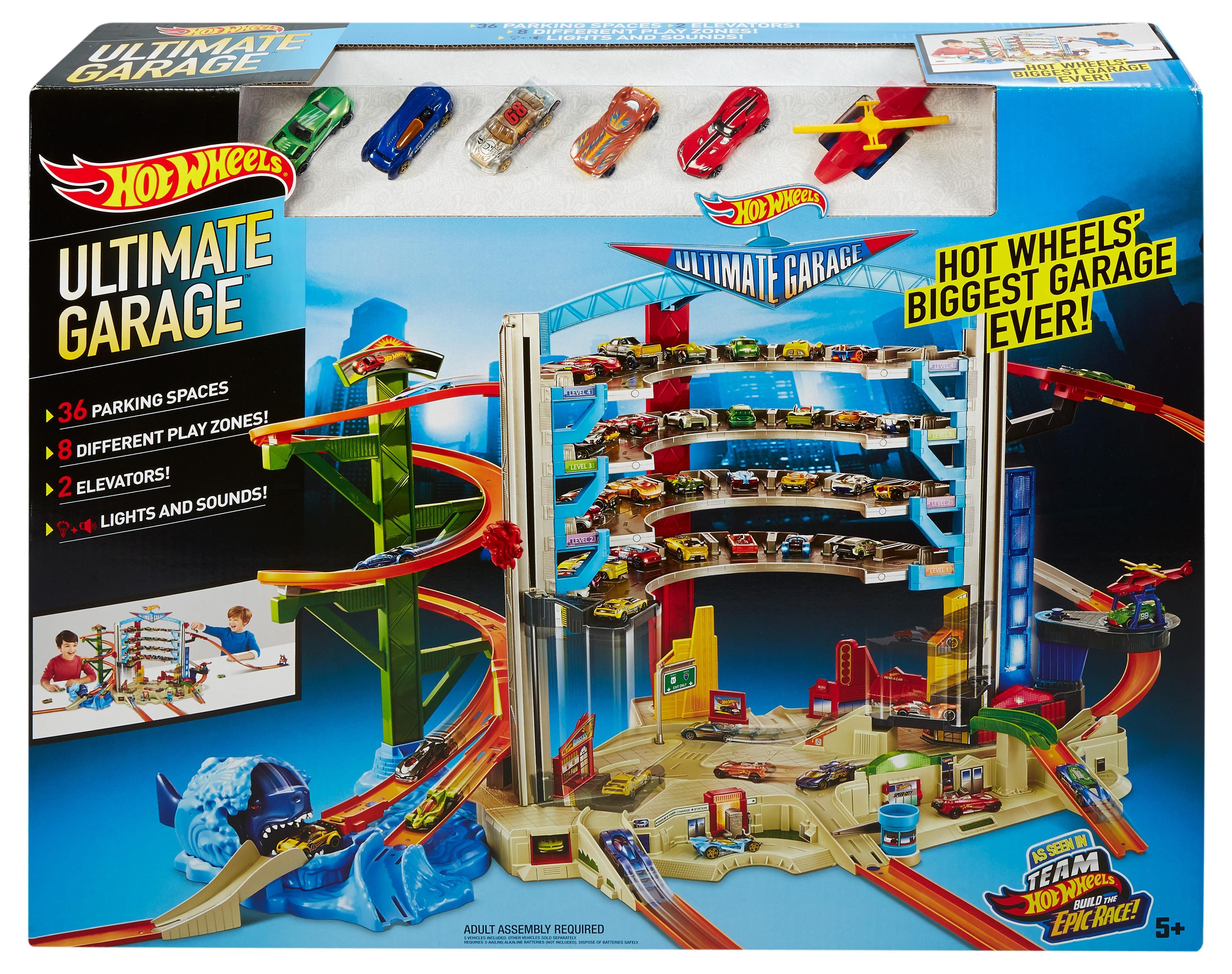 Amazon.com: Hot Wheels Ultimate Garage Playset: Toys & Games
