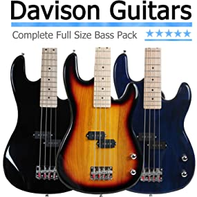 beginner bass guitar value pack for sale