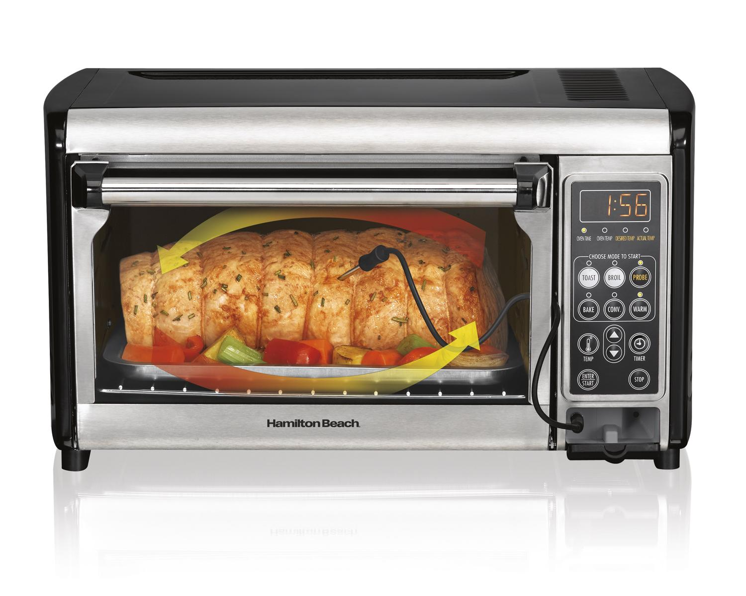 Countertop Convection Toaster Oven Recipes : ... Set & Forget Toaster Oven with Convection Cooking: Kitchen & Dining