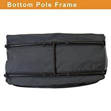 Bottom Pole Frame