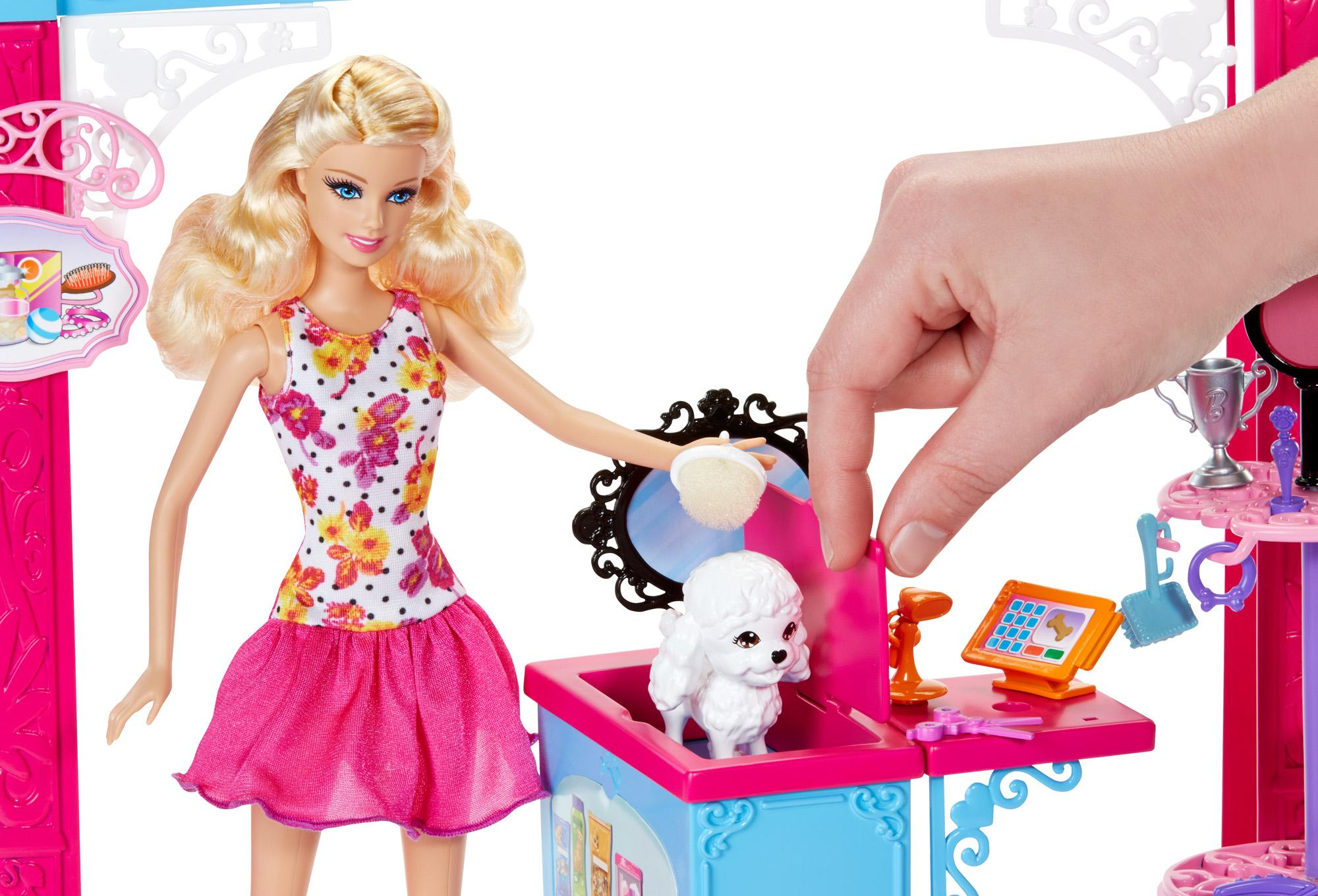 Amazon.com: Barbie Life in The Dreamhouse Pet Boutique and