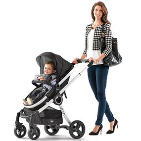Chicco 6 In 1 Urban Baby Toddler Keyfit Stroller Infant