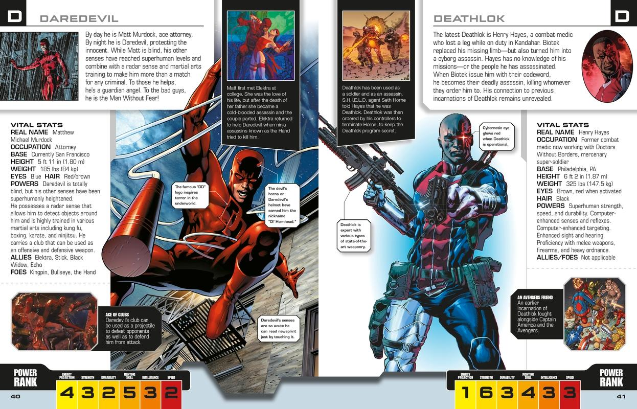 Marvel The Avengers: The Ultimate Character Guide Hardcover – March