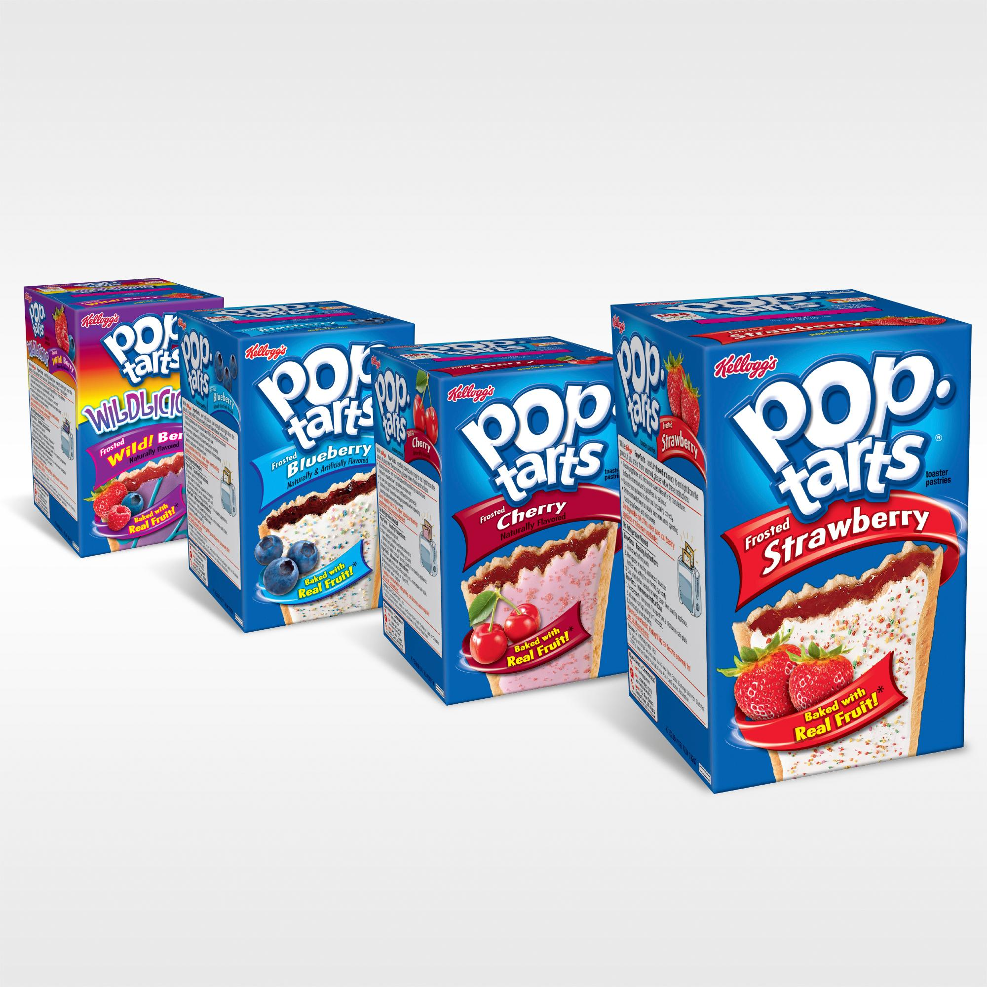 Amazon.com: Pop-Tarts, Frosted Strawberry, 32 Count, 58.61 Ounce: