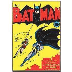 Silver buffalo bn0736 dc comics no 1 batman for International home decor llc