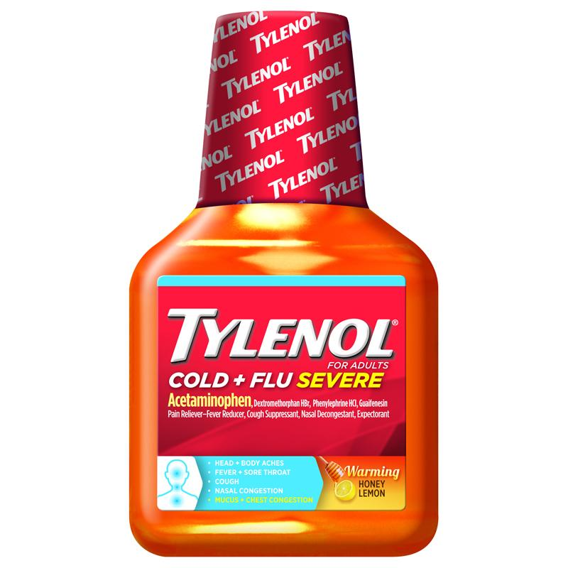 Tylenol Cold Head Congestion Severe 24 Updated 2016 - Hot Hot