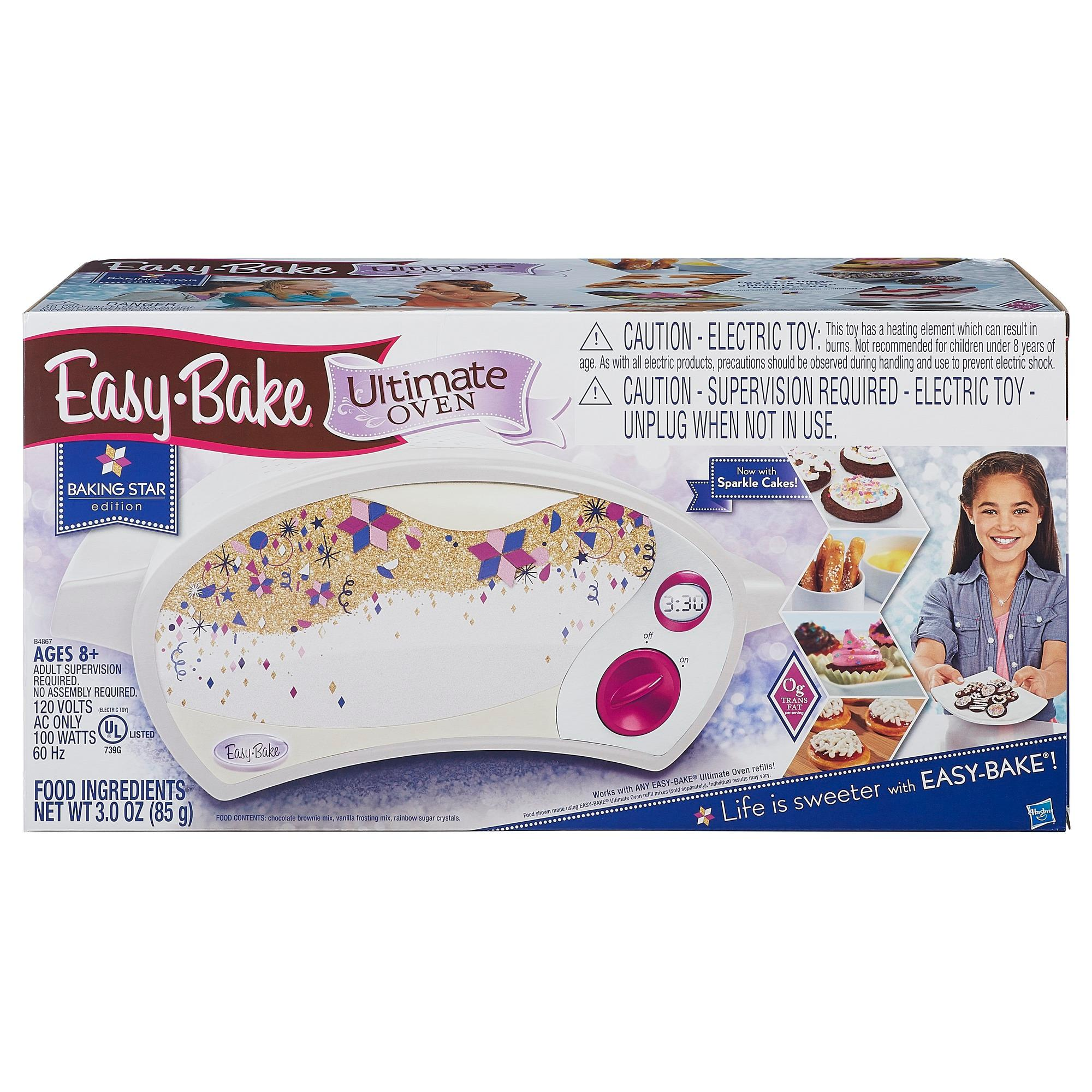 Easy Bake Ultimate Oven Chocolate Brownie Mix Instructions