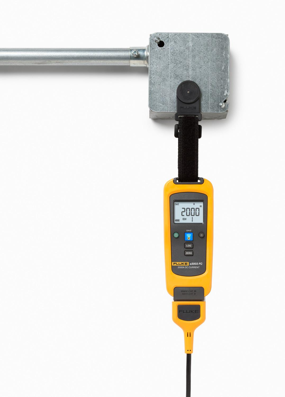 Dc Clamp Meter : Fluke a fc wireless amp dc clamp meter