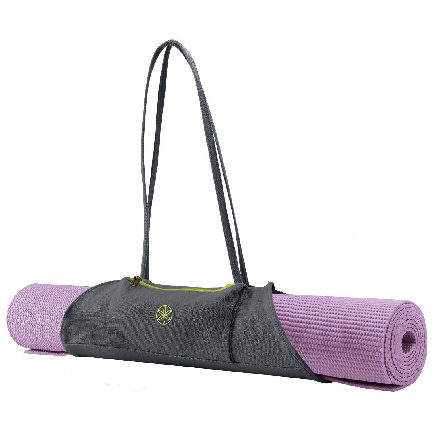 Amazon.com : Gaiam On-The-Go Yoga Mat Carrier, Citron