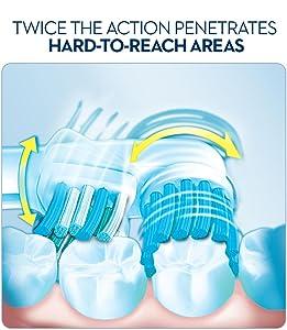 oral b, oral b toothbrush, best toothbrush, brush head, brush teeth, oral b refill