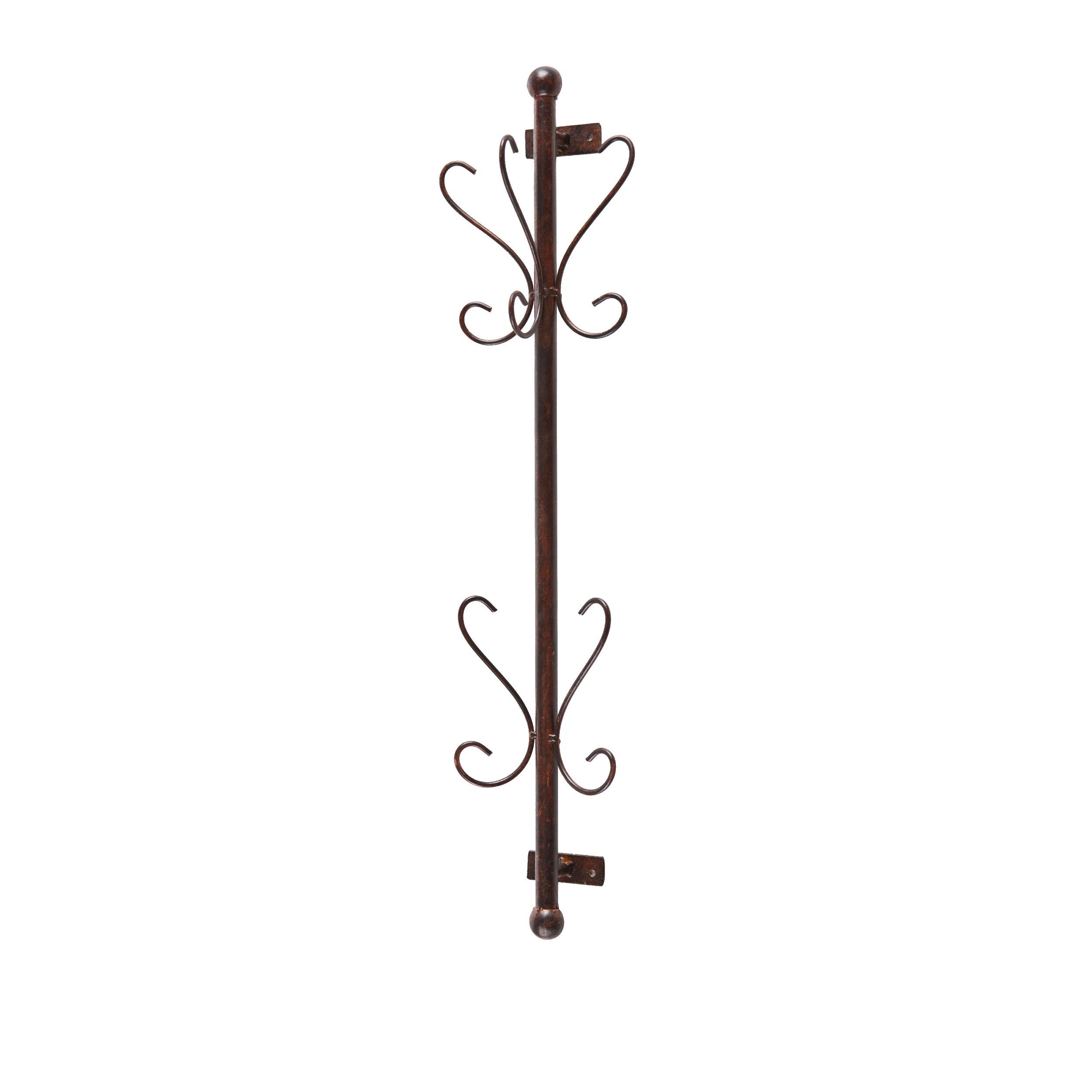 sei talcott wall mount bronze entryway coat. Black Bedroom Furniture Sets. Home Design Ideas