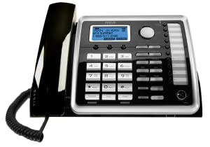 2-Line, corded, expandable, desk phone, business phone, speakerphone, conferencing, intercom