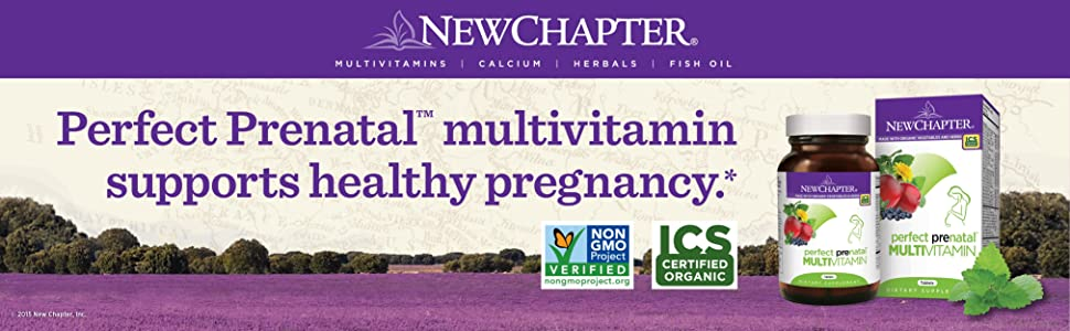Perfect Prenatal Multivitamin Supports Healthy Pregnancy.* Gentle on Your Stomach