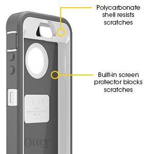 otterbox iphone 5 5s scratch screen protection