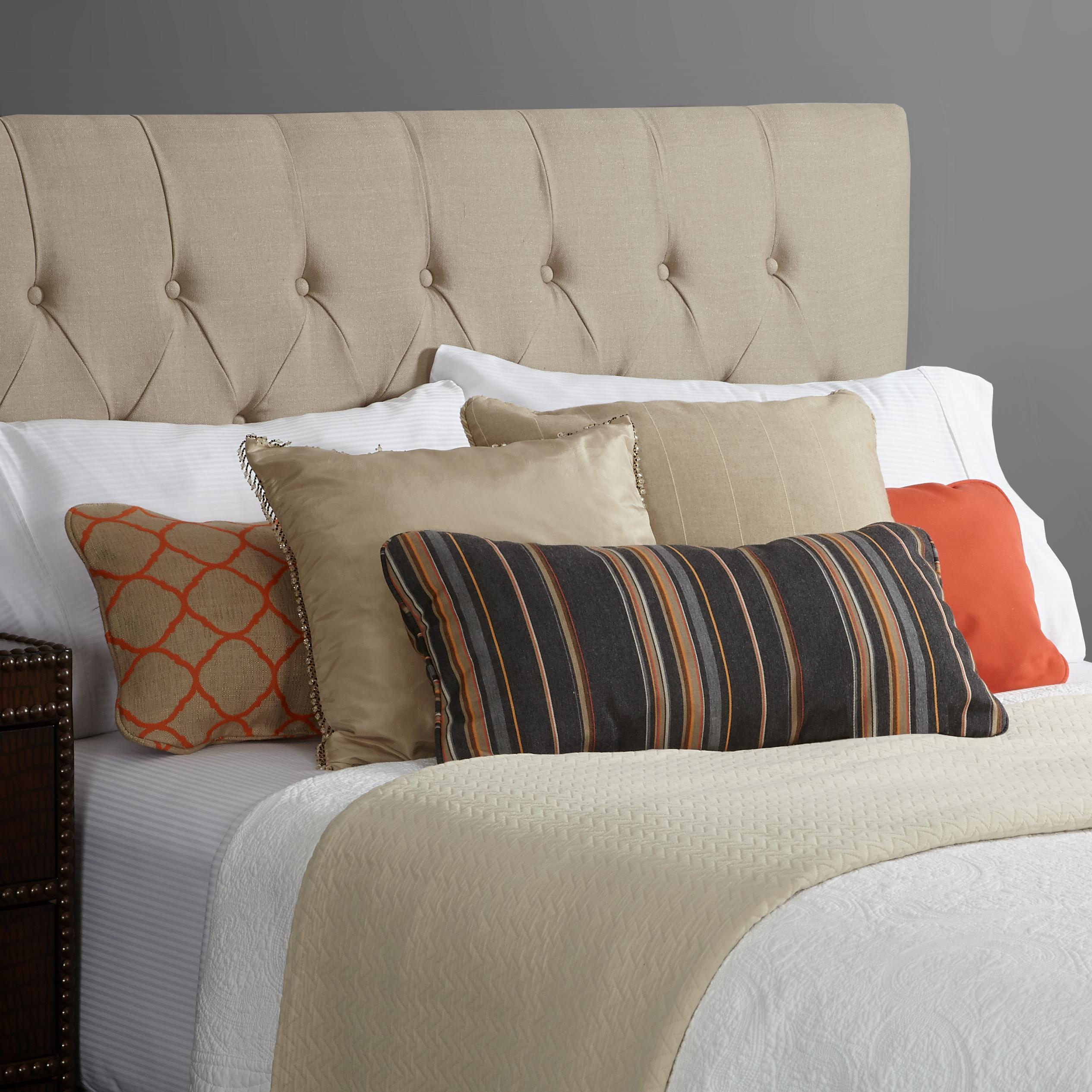 humble haute harlow linen diamond tufted. Black Bedroom Furniture Sets. Home Design Ideas