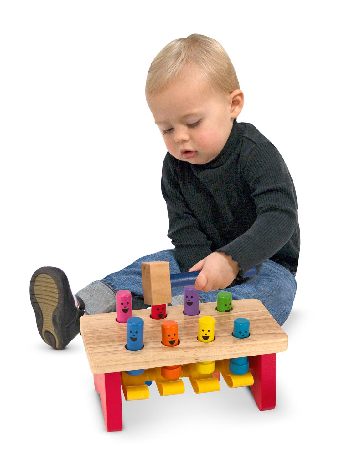 Melissa Doug Toys : Amazon melissa doug deluxe pounding bench