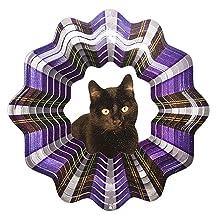 Iron Stop Black Cat Wind Spinner