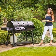char-grill, propane