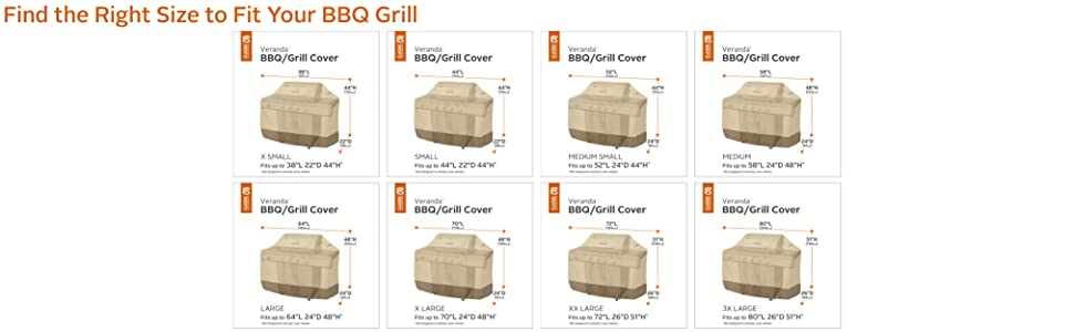 grill cover, grill fit, gas grill cover, bbq grill cover, bbq accessories, classic accessories