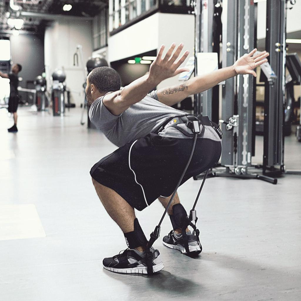 Vertical Jump Trainer Leg Strength Resistance 35lbs Speed/&Agility Train Band