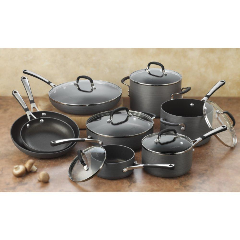When you buy a Calphalon Calphalon Signature™ 10 Piece Nonstick Cookware Set online from Wayfair, we make it as easy as possible for you to find out when your product will be delivered. Read customer reviews and common Questions and Answers for Calphalon Part #: on this page.