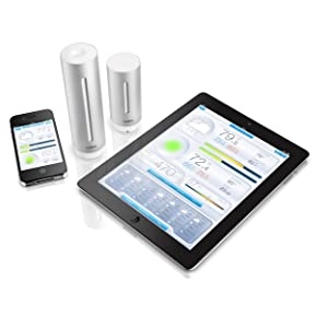 ipad, iphone, ios, app, weather station, family health, air quality, humidity, temperature, pressure