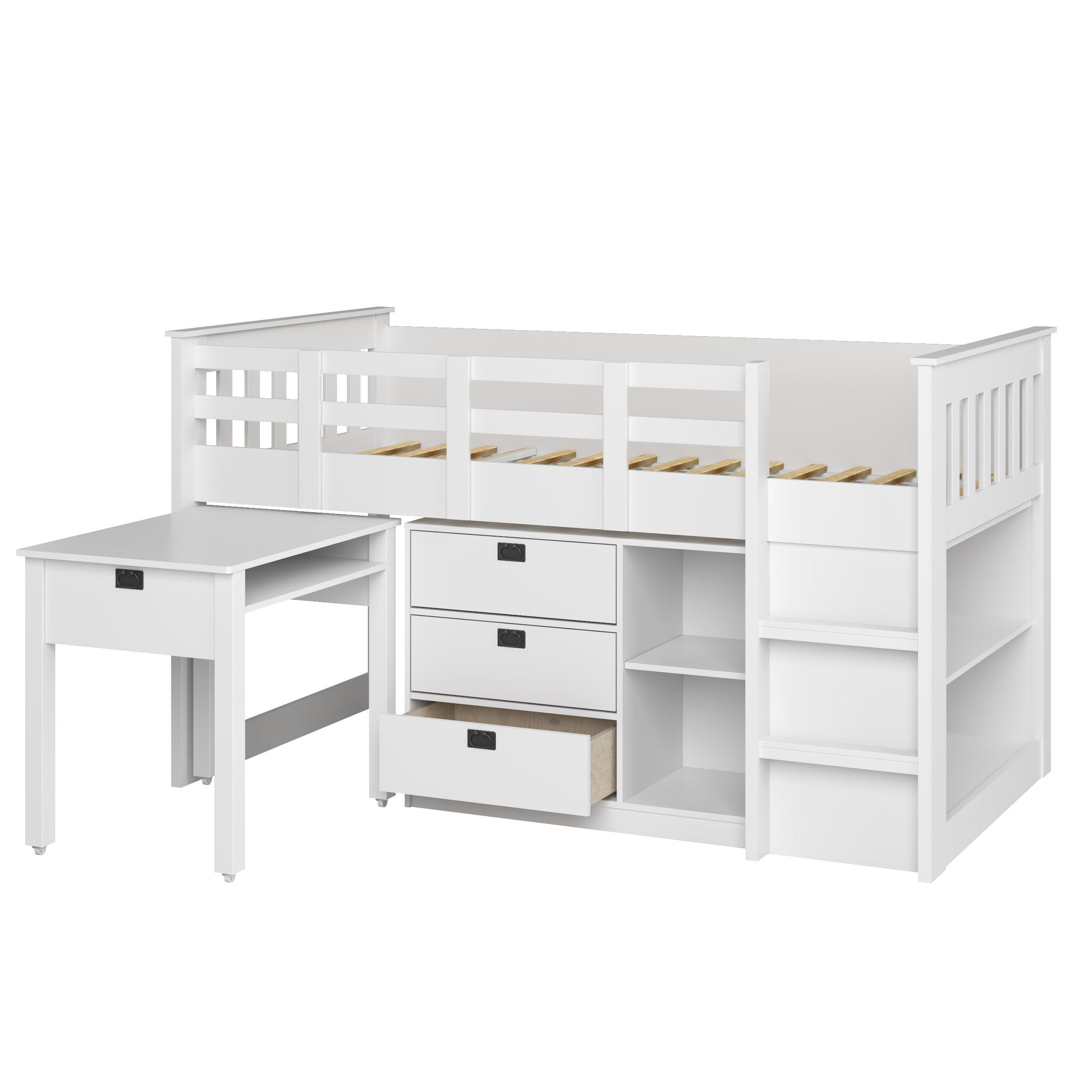 Amazon Com Corliving Bmg 310 B Madison Loft Bed With