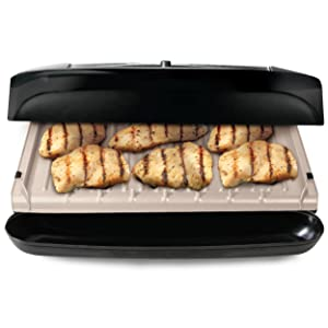 George foreman grp1001bp 6 serving removable plate grill black kitchen dining - Drip tray george foreman grill ...