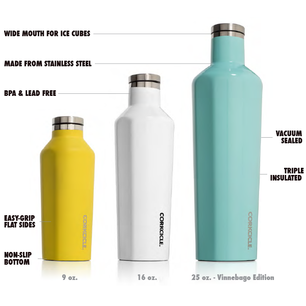 Amazon Com Corkcicle Vinnebago Insulated Stainless Steel